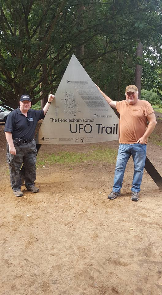 Photo of UFO Trail Sign