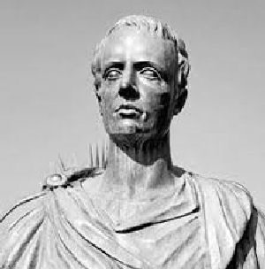 Photo of a Catullus statue