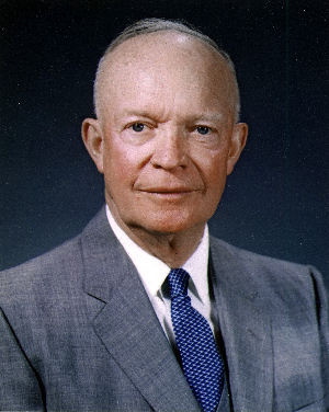 Photo of Dwight D Eisenhower