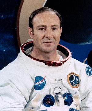 Photo of Captain Edgar Mitchell