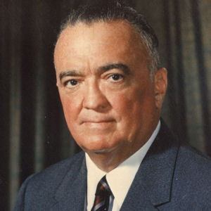 Photo of J Edgar Hoover