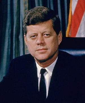 Photo of John F Kennedy