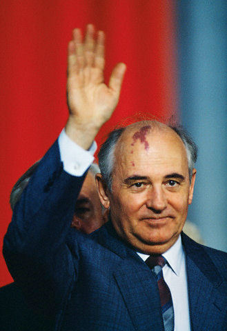 Photo of Mikhail Gorbachev