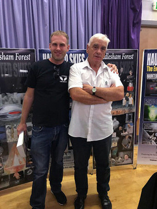 Photo of Shaun with John Hanson