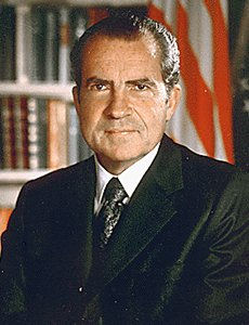 Photo of Richard M Nixon